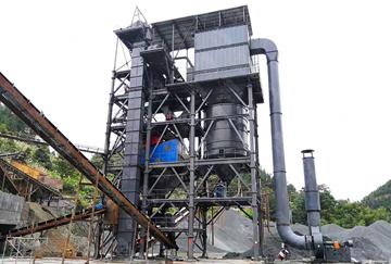 陕西时产180-250吨VUS300塔楼精品骨料生产线