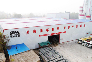 山西临汾时产250吨尾矿建筑垃圾破碎制砂线