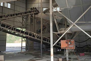 陕西时产100吨尾矿制砂综合利用示范线