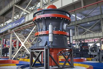 安徽池州年产200万吨砂石料生产线
